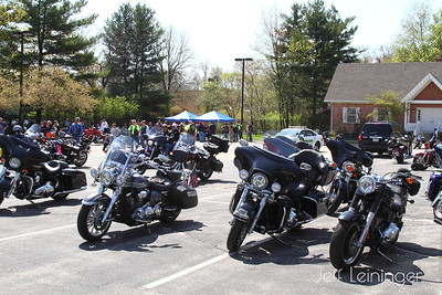 My bike is the second from the right, john's is right behind mine.