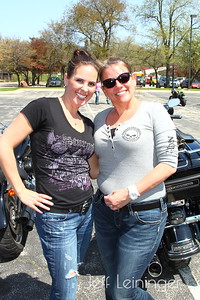Two hot harley chicks.