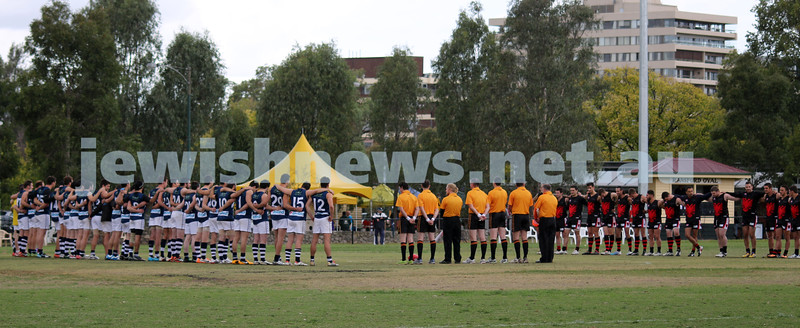 23-3-2014. The 7th Harmony Cup. Israel Vs Albania, Royal Park North, Melbourne. Photo: Lochlan Tangas