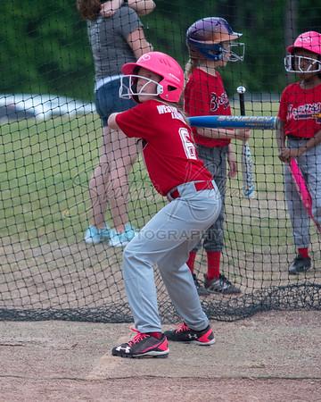 20180505 - 10+ Girls Softball Braves vs Blue Jays