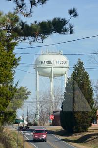 Harnett County Water Tank