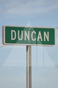 Harnett County, Duncan sign