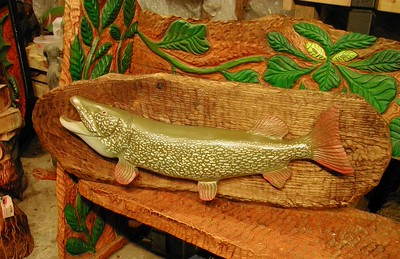 Harnett Designs Carved Fish