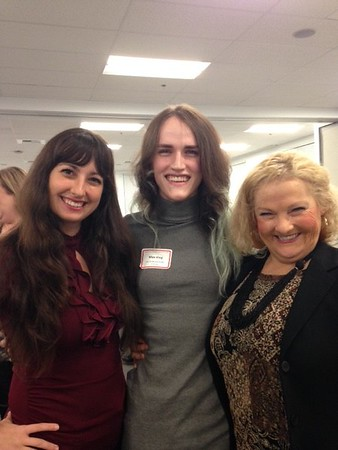SCCY members, enjoying the event. Danica Peterson, Max King and Rachael Beutler