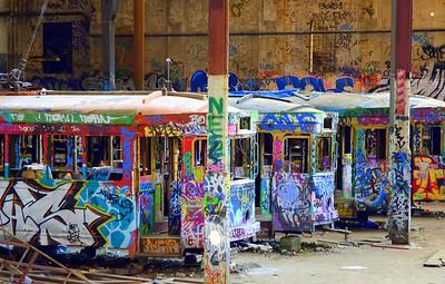 Harold park Graffiti