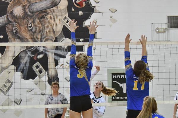 Harper Volleyball 10-13-17
