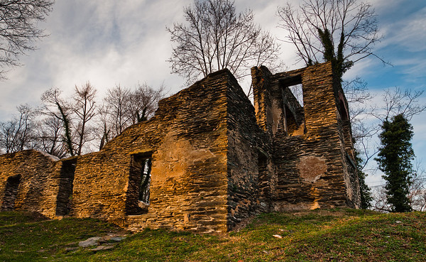 Church Ruins Along Appalachioan Trail, Harpers Ferry, WVA