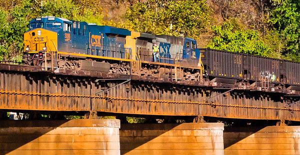 Empty Coal Train, Harpers Ferry, WVA