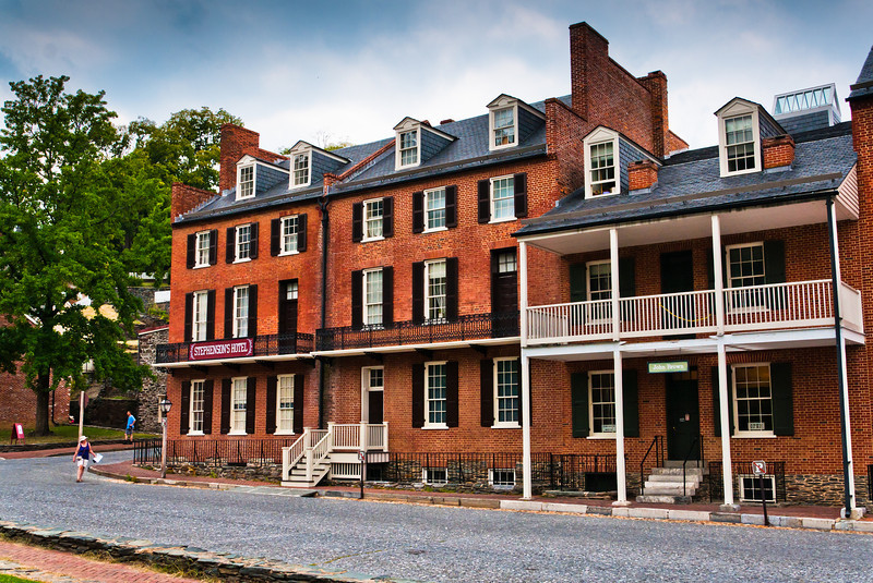 Stephenson's Hotel and John Brown Museum, Harpers Ferry, WVA