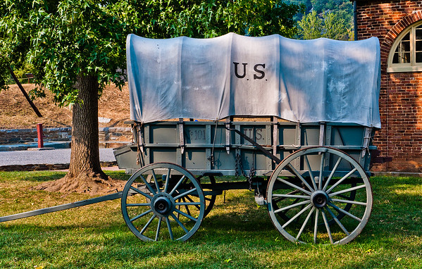 Civil War Era Wagon, Harpers Ferry, WVA