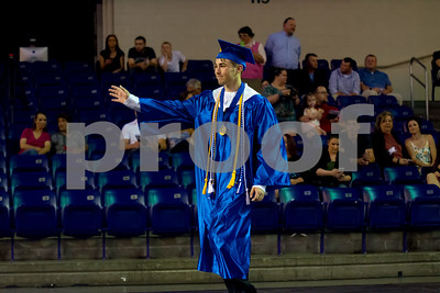 Harpeth Graduation Senior Walk