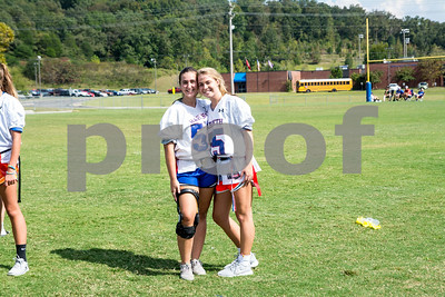Harpeth Homecoming Powder Puff Game