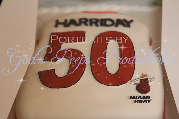 Harriday 50th Birthday