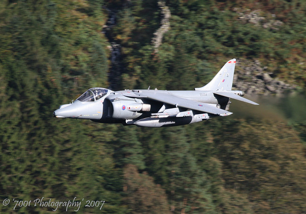 ZD354/'21' (1 SQN marks) Harrier GR.9 - 4th October 2007.