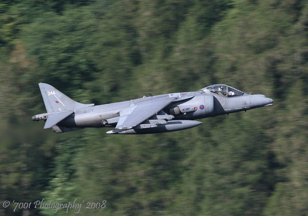 ZD376/'24A' (Unmarked) Harrier GR.7A - 10th September 2008.