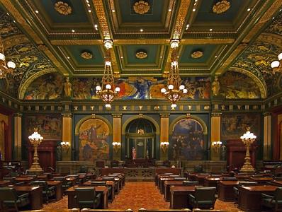 Senate, Capitol Building--Harrisburg, PA