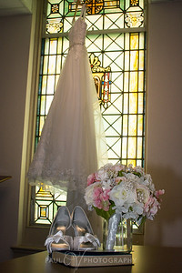 Wedding Gown,stained glass