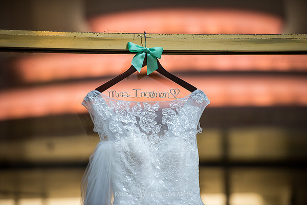 Wedding Gown on Hangar