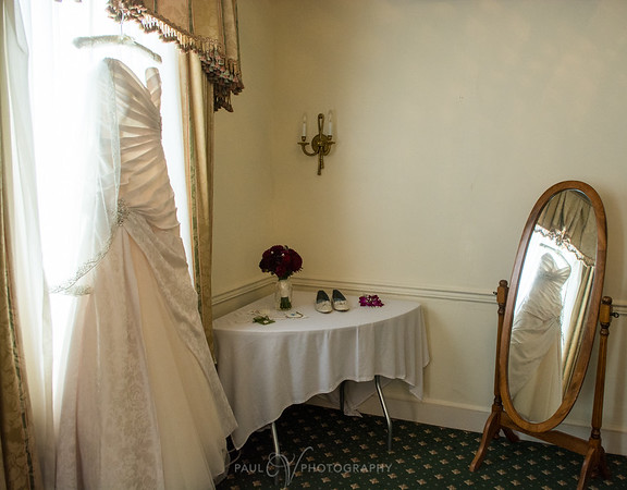 Wedding Gown at Yorktowne Hotel