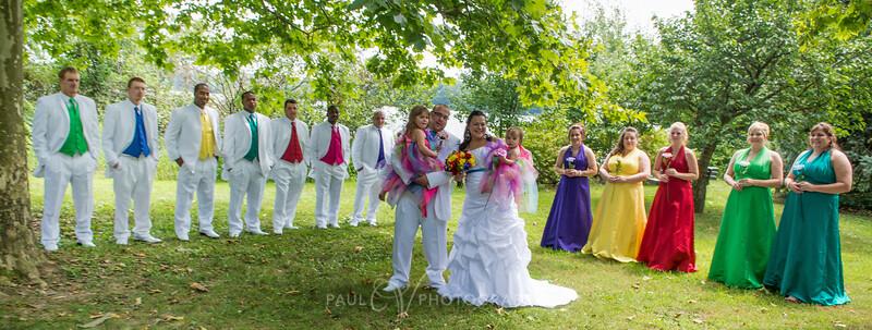 Memorial Lake Wedding Photography, Formal Portrait