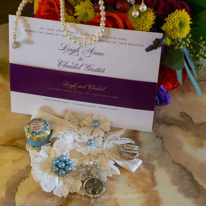 Garter and Invitation