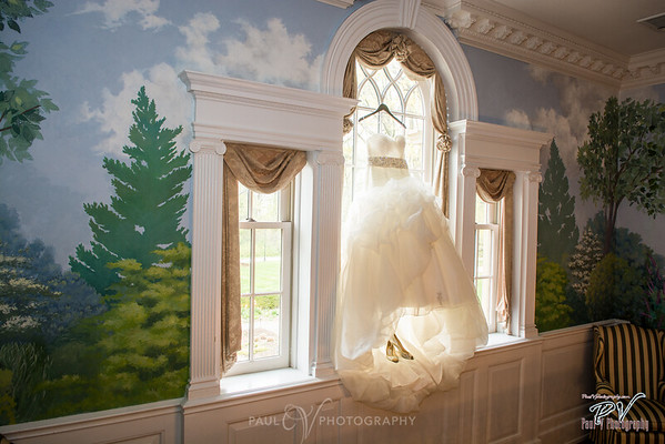 Box Hill Mansion Wedding Gown Photography