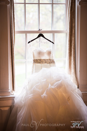 Wedding Gown shot at Box Hill