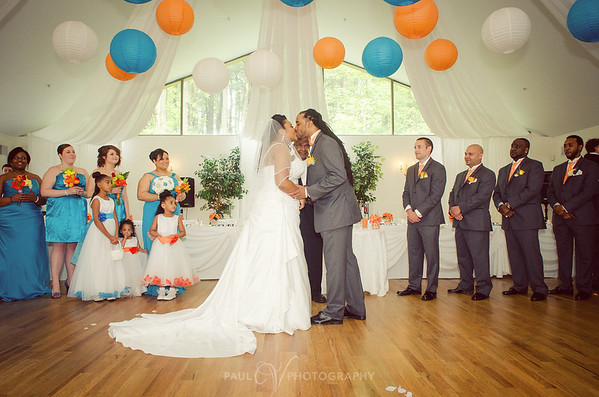http://www.karenscatering.com/  Innette and Joc-Kin's Wedding day at Karen's Harmony Hall Middletown Pa