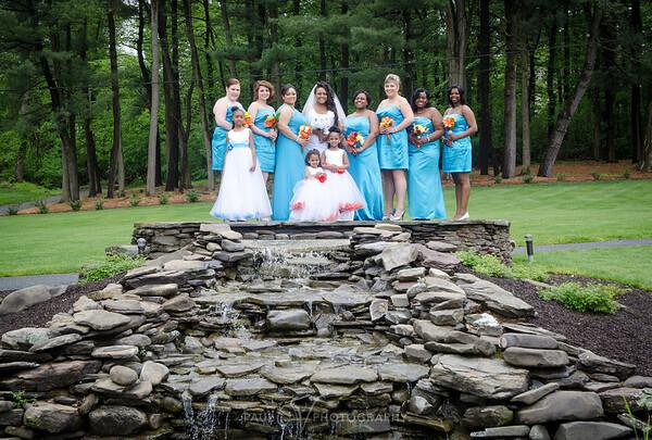 Innette and Joc-Kin's Wedding day at Karen's Harmony Hall Middletown Pa