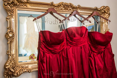 Red Bridesmaids Dresses