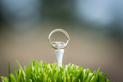 Golf Tee Ring Shot