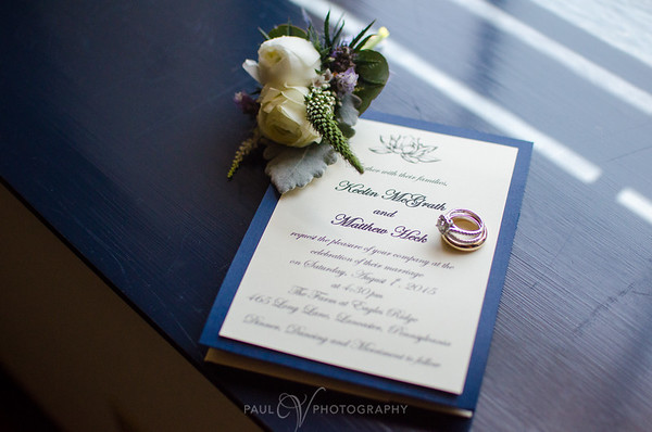 All the Wedding Details at the Farm at Eagles Ridge
