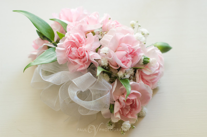 Pink Corsage