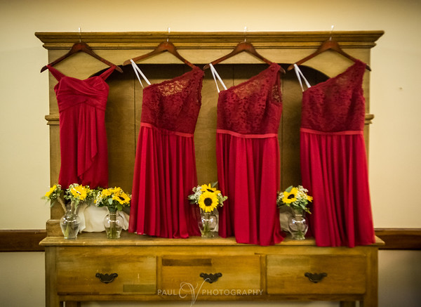 Bridesmaids Dresses at Blue Ridge Country Club