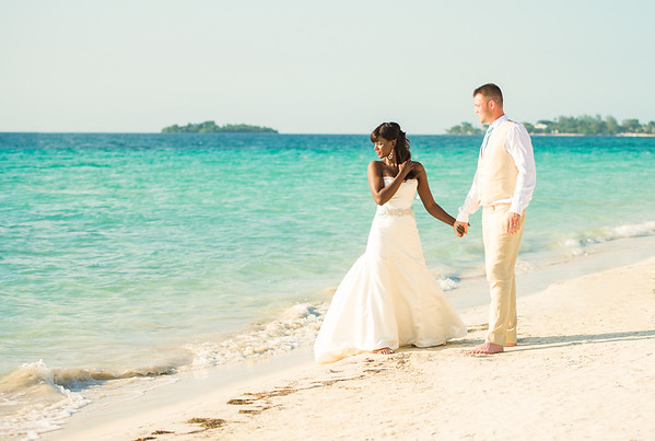 7  Mile Beach Wedding