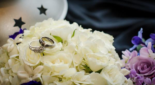 Rings shot on Flowers