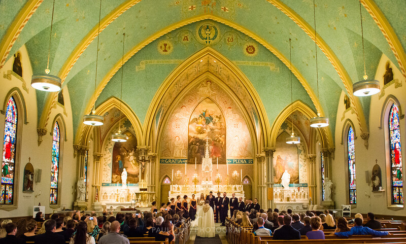 A Wedding at Historic St Mary's