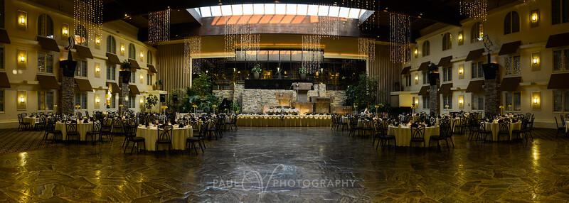 Wedding Reception at the Eden Resort