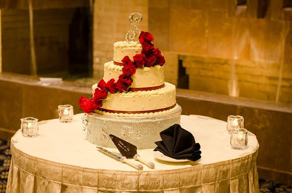Wedding Cake at the Eden Resort