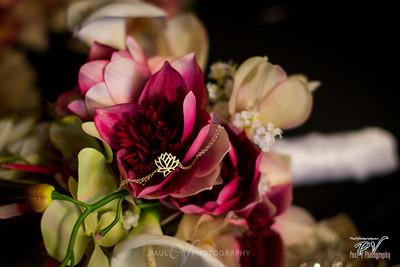 Lotus Flower Necklace Floral Detail Shot