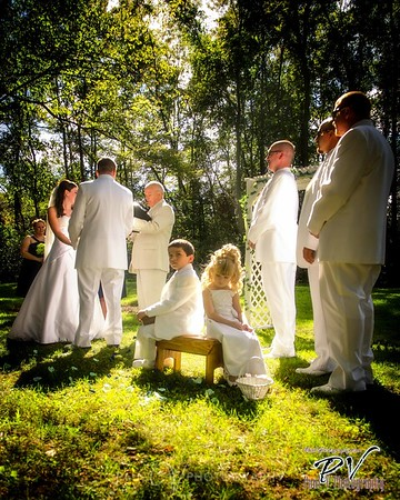 Flower Girl and Ring bearer have their moment