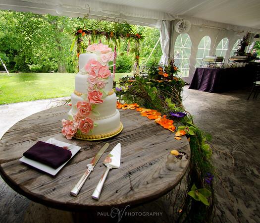Wedding Cake at Moonstone Manor