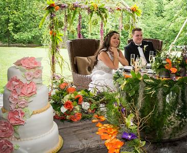 Erica Everest and Shane Harvey Wedding Day at Moonstone