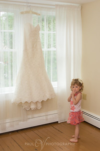 Wedding Gown at the Shady Lane Bridal Cottage