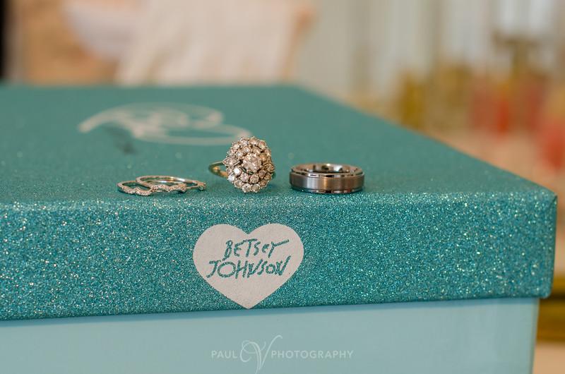 Betsy Johnson Wedding Ring Shot