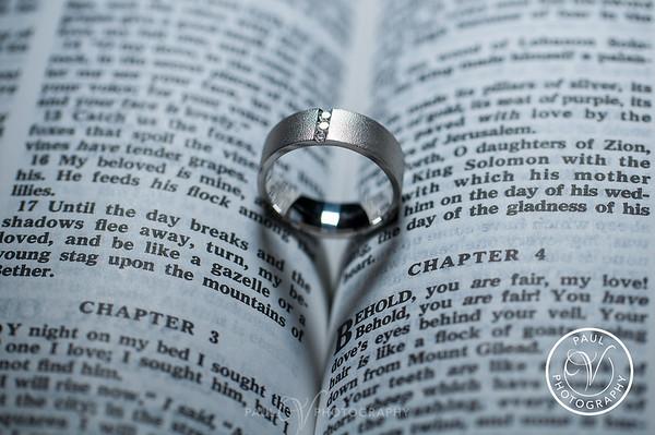 Heart Shaped Ring Detail Shot