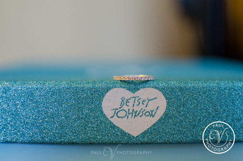 Betsy Johnson Shoe Box Wedding Ring Shot