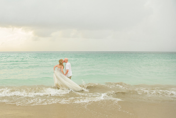 Trash the Dress Jamaican style