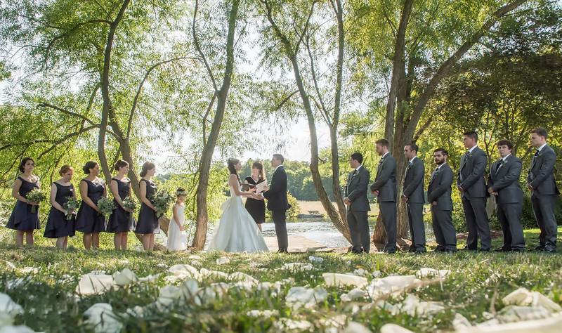Ceremony at the Farm at Eagles Ridge