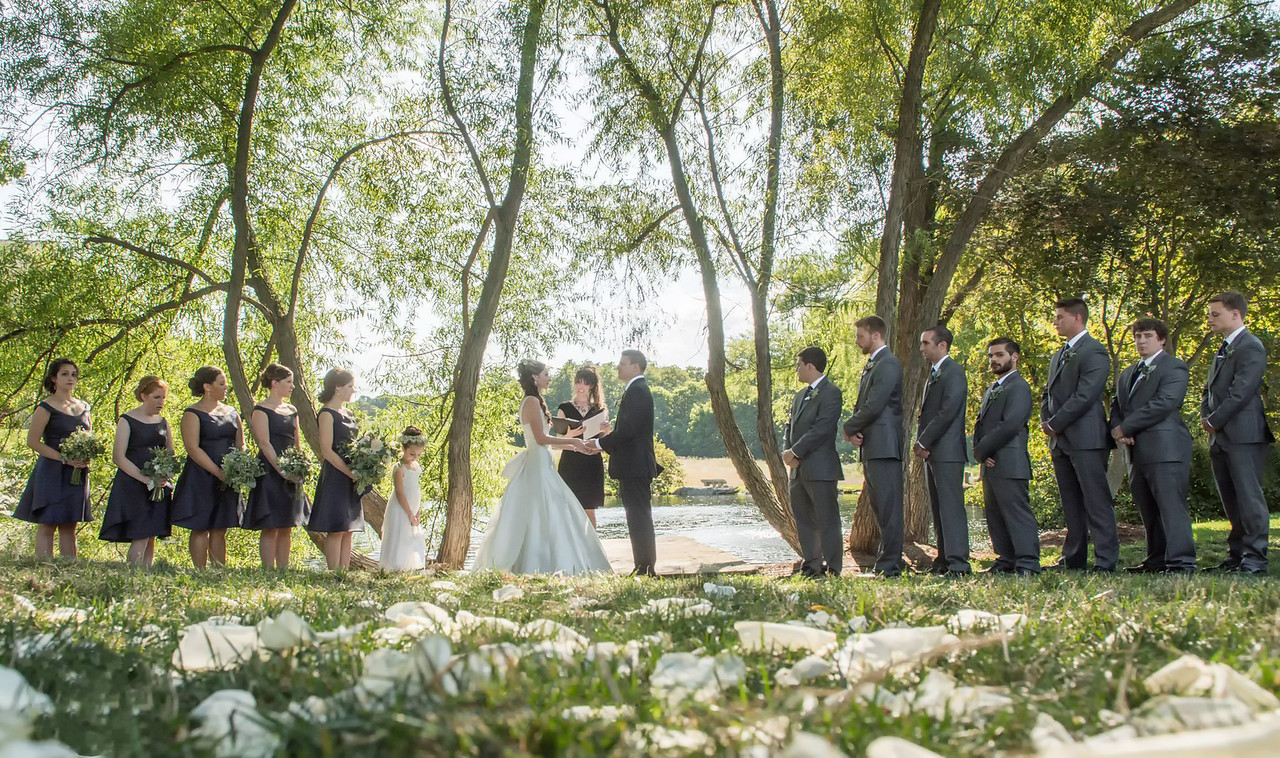 Ceremony at the Farm at Eagles Ridge